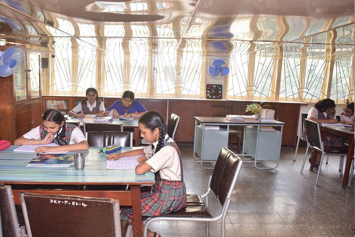 Auxilium Convent High School-Library