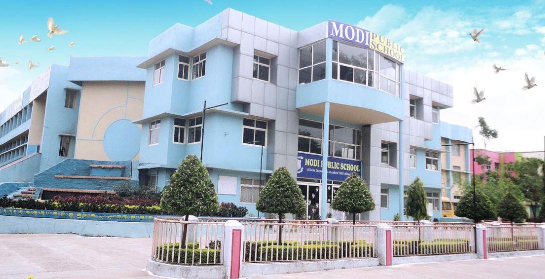 Modi Public School-Campus View