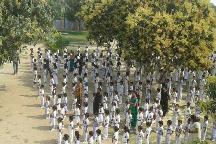 Kids Camp International School-Assembly Ground
