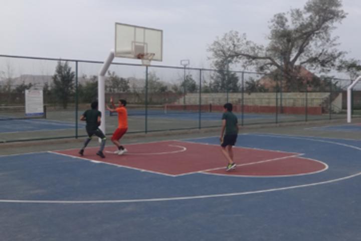 Mount Litera Zee School-Basket Ball court