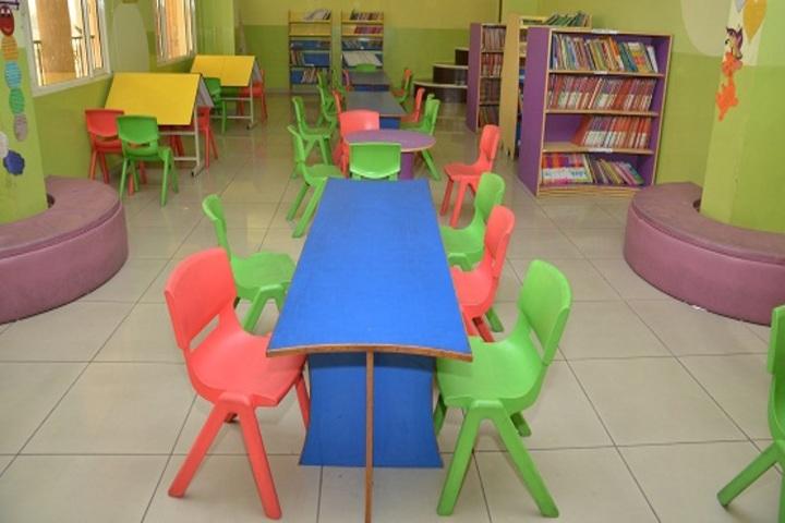 Mount Litera Zee School-Primary library