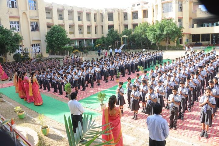 Narmada Devi Singhania International School-Assembly