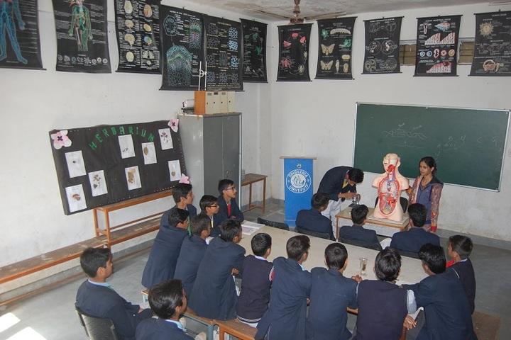 Narmada Devi Singhania International School-Biology lab