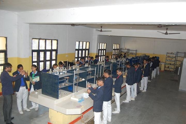 Narmada Devi Singhania International School-Chemistry lab