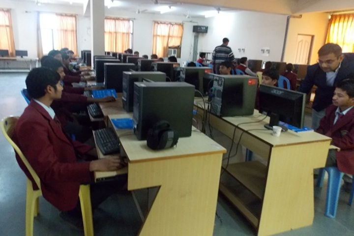 Narmada Devi Singhania International School-Computer lab