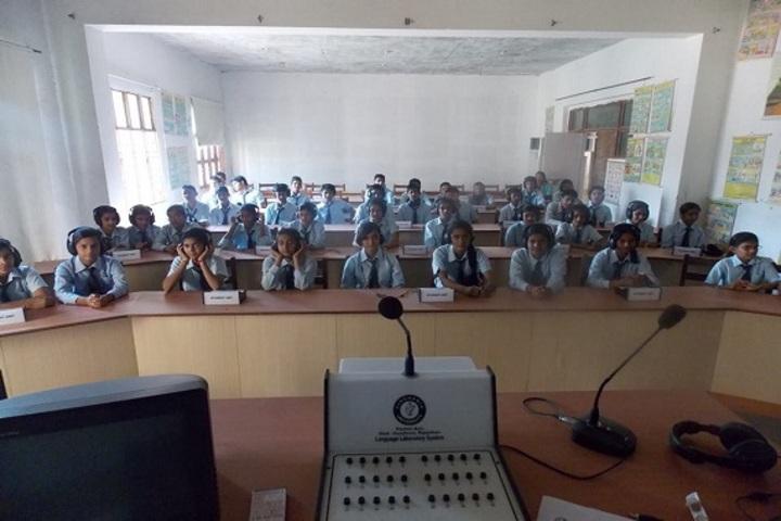 Narmada Devi Singhania International School-Language lab