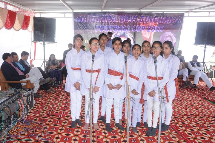 Narmada Devi Singhania International School-Singing