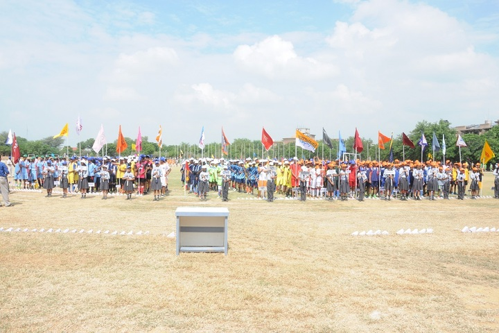 Narmada Devi Singhania International School-Sports day