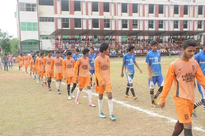 Narmada Devi Singhania International School-Sports team