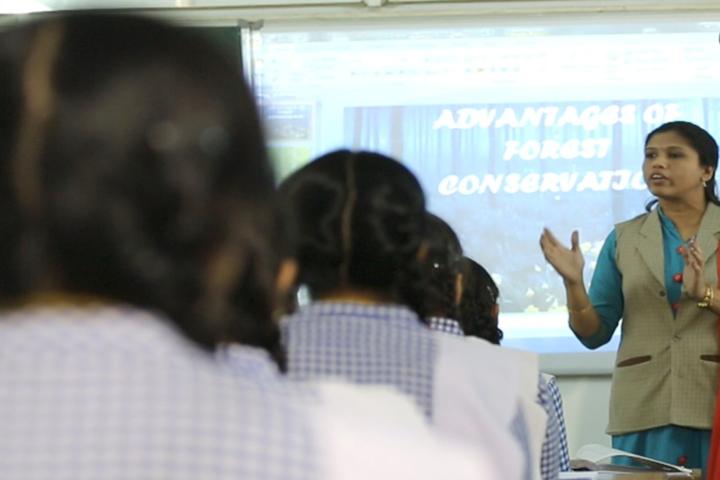 New Look Central School-Smart classroom
