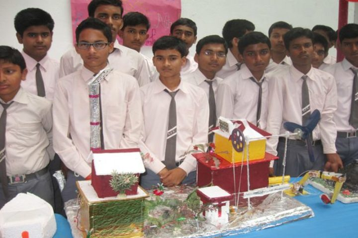 Kiran public school-Science Exbhition