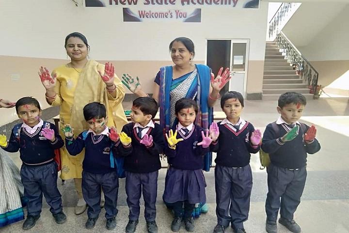 New State Academy-Holi celebrations