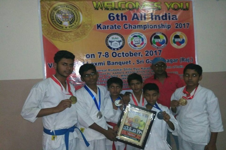 New State Academy-Karate winner