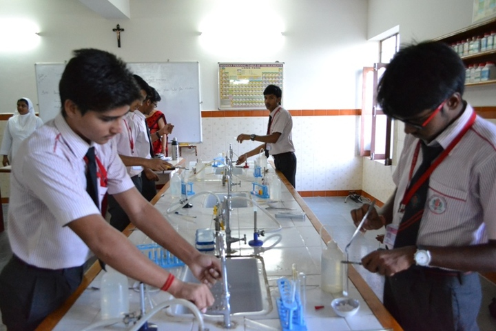 Our Lady Of Pillar Convent School-Chemistry lab