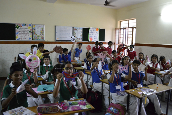 Our Lady Of Pillar Convent School-Class activity
