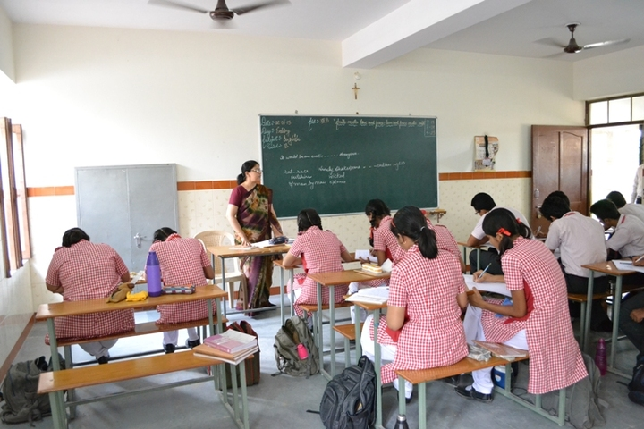 Our Lady Of Pillar Convent School-Classroom