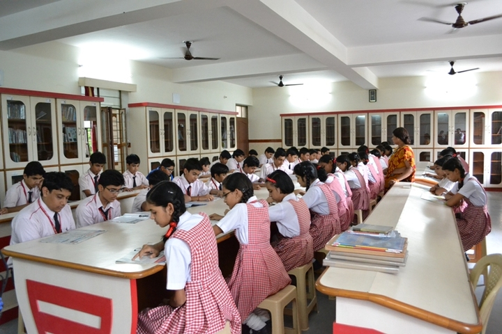 Our Lady Of Pillar Convent School-Library