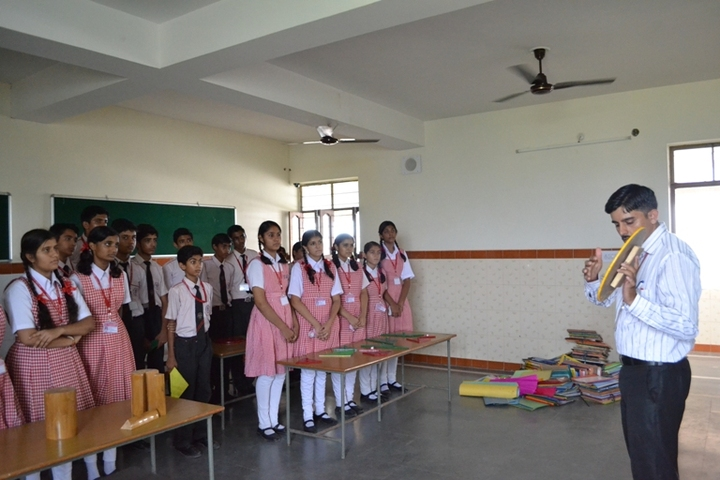 Our Lady Of Pillar Convent School-Maths Lab