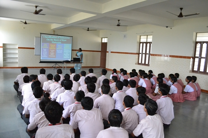 Our Lady Of Pillar Convent School-Smart Classroom
