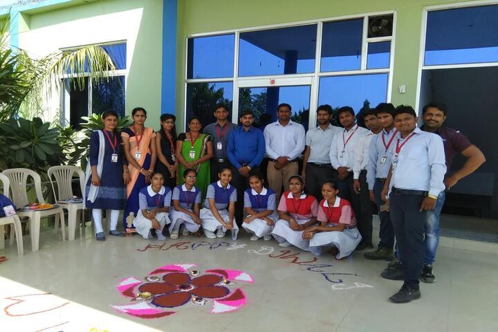 Oxford International School-Rangoli
