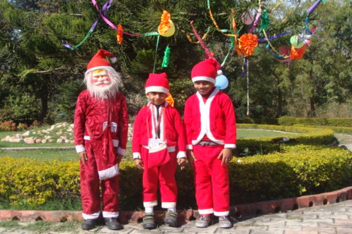 Padma Binani Public School-Christmas Day