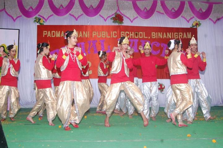 Padma Binani Public School-Dance