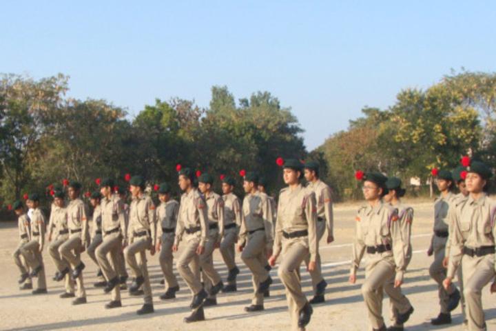 Padma Binani Public School-NCC