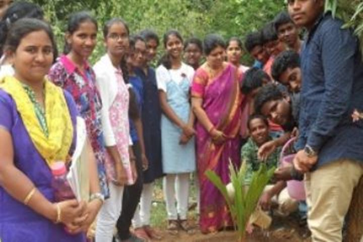 B V Reddy Senior Secondary School-Planting Tree