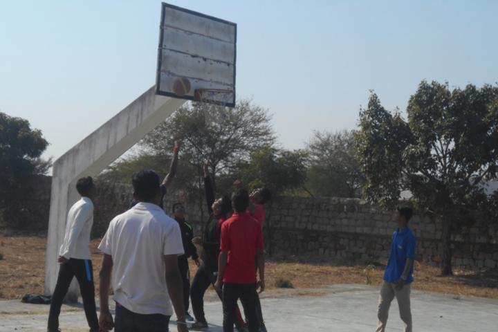 Pallavan Uchatar Prathmik Vidyalaya-Basketball Court