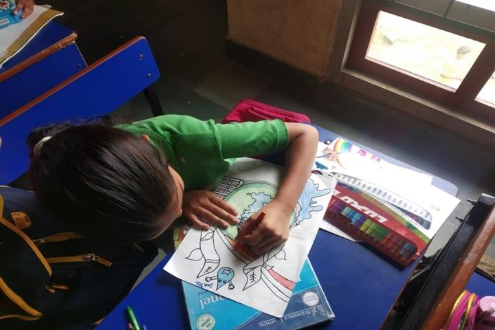 Pallavan Uchatar Prathmik Vidyalaya-Drawing Competition