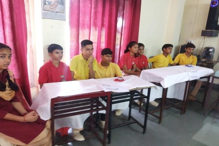 Pallavan Uchatar Prathmik Vidyalaya-Quiz Competiton