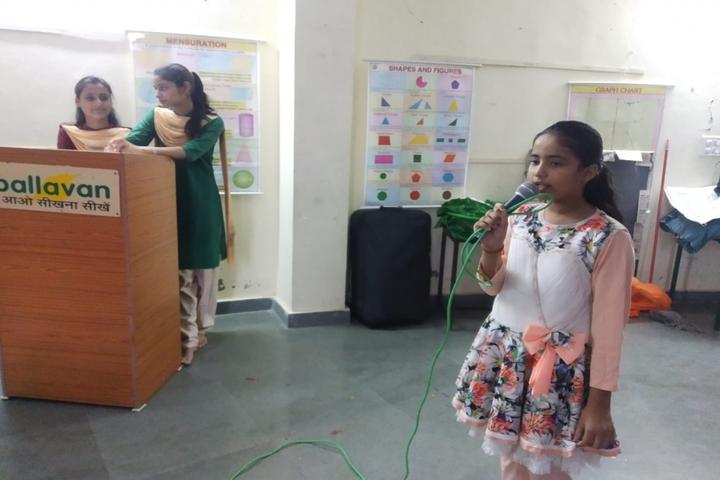 Pallavan Uchatar Prathmik Vidyalaya-Singing Competition