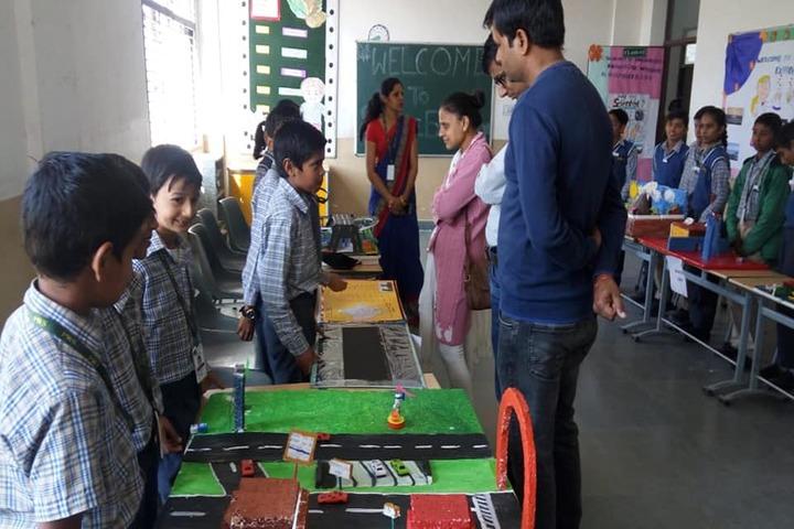 Paramlakshya World School-School Exhibition