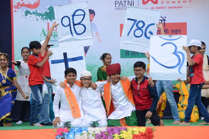 Patni Public School-Independence Day
