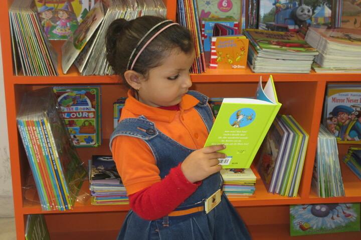Patni Public School-Primary library