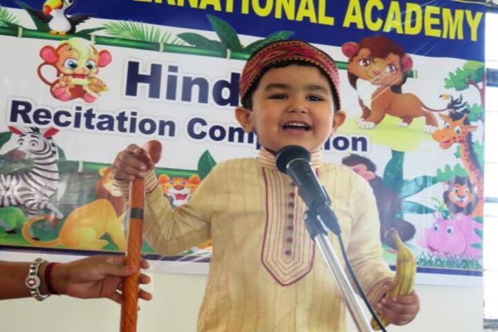 Pooja International Academy-Story Telling