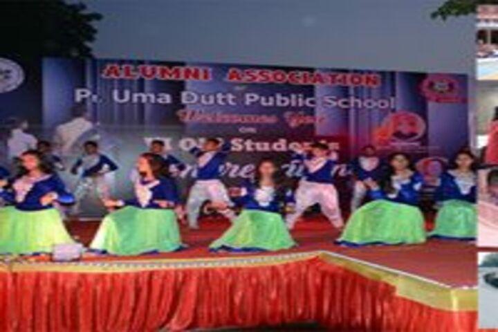 Pt Uma Dutt Public School-Dance