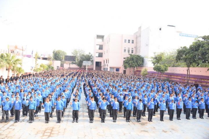 Queen Marys Girls School-Assembly