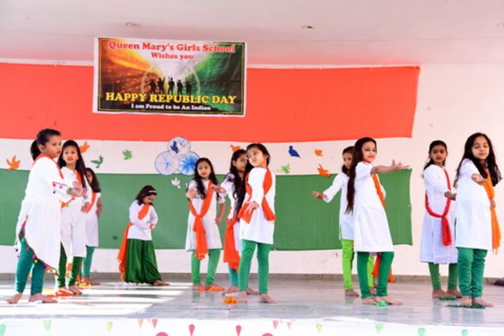 Queen Marys Girls School-Republic Day