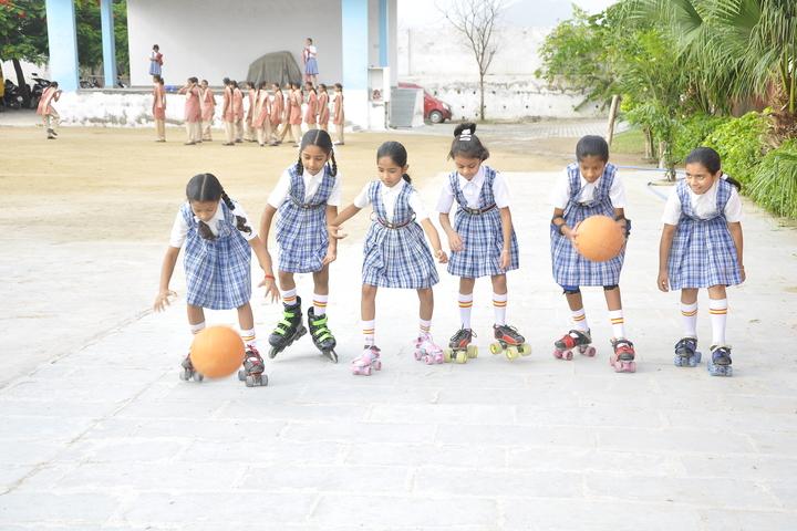 Queen Marys Girls School-Skating