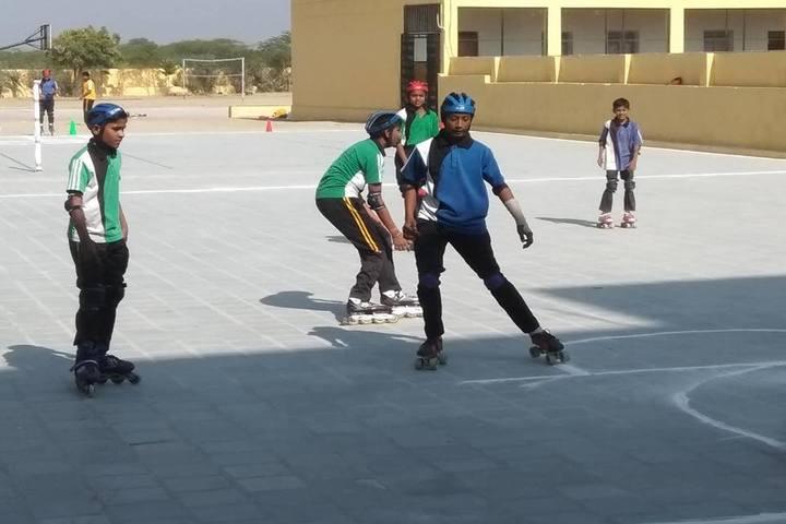 Queen Marys School-Skating