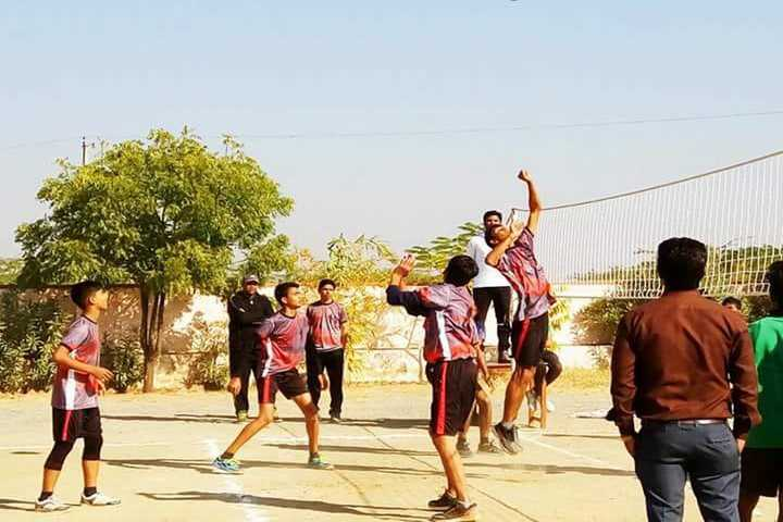 Queen Marys School-Vollyball Competition