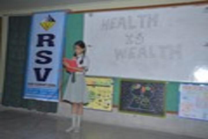 R S V Higher Sec School-Speech