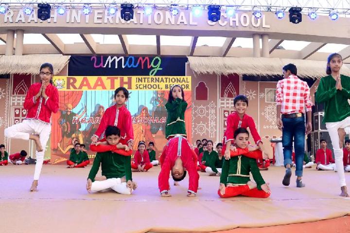 Raath International School-Dance