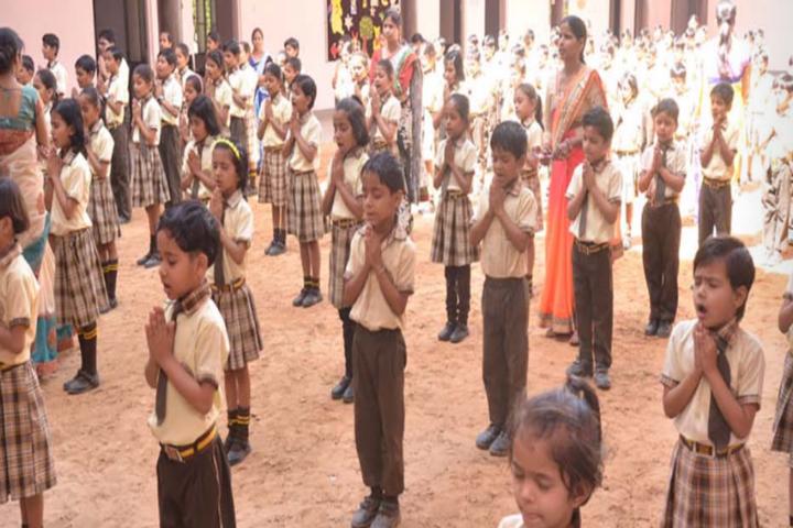 Radhakrishnan Public School-Assembly