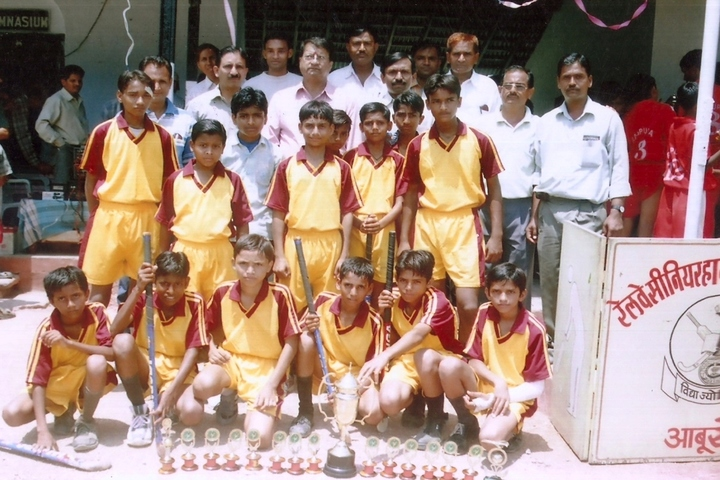 Railway Higher Secondary School-Sports Team