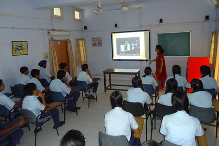 Lakshya International Academy-Digital Class Room