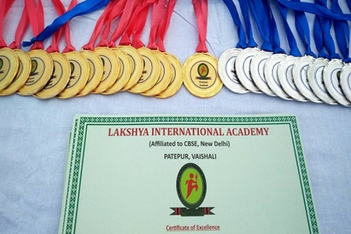 Lakshya International Academy-Gold Medals