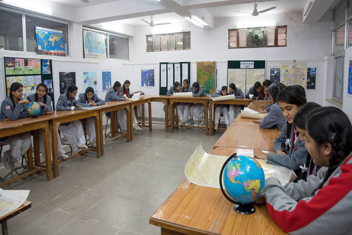 Rajmata Krishna Kumari Girls Public School-Geography Lab