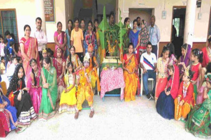 Rana Pratap English Medium School-Janmashtami
